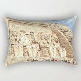 AbuSimbel20160101 Rectangular Pillow