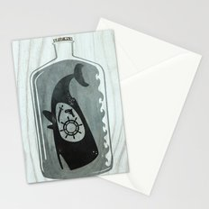 Whale in a Bottle | Ship's Wheel Stationery Cards