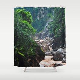 Peruvian Amazon II Shower Curtain