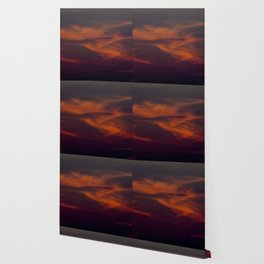 storm annoucement at sunset Wallpaper