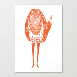 Foxman Canvas Print