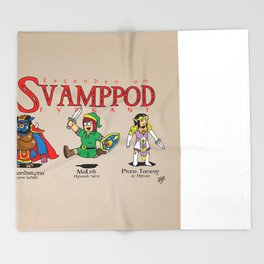 SvampPod TriForce Throw Blanket