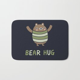 Bear Hug Bath Mat