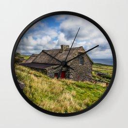 Rock House Wall Clock