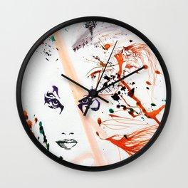 Tiger Lady Wall Clock