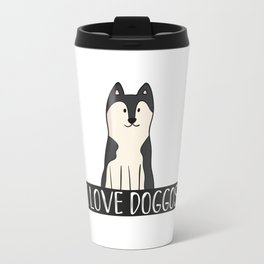 I Love Doggos Travel Mug