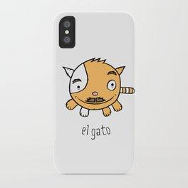 el gato iPhone Case