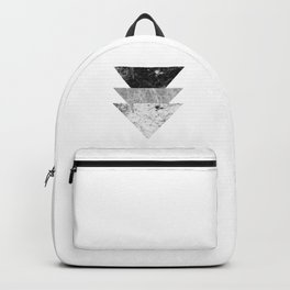 Night marble triangles Backpack
