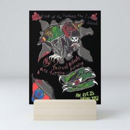 Inner Demons Mini Art Print