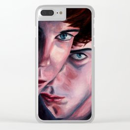 Brothers of the Head Clear iPhone Case