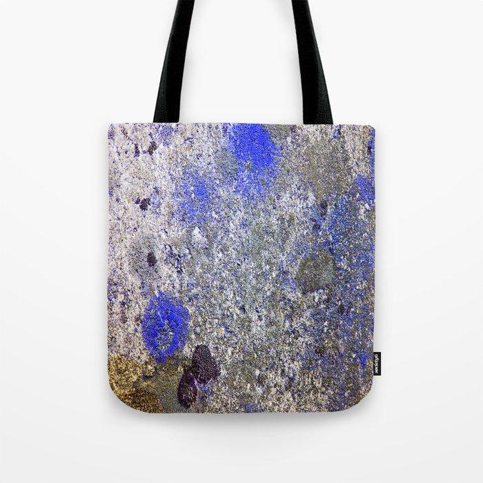 Blue Moss Tote Bag