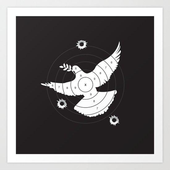 Aim for Peace Art Print