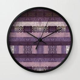 Quilt Top - Antique Twist Wall Clock