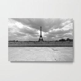 Trocadero (Paris, France) Metal Print