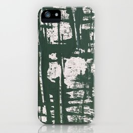 NYC Walls (zelen) iPhone Case
