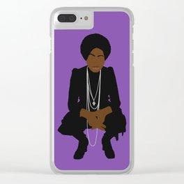 Nina Miss Simone Clear iPhone Case