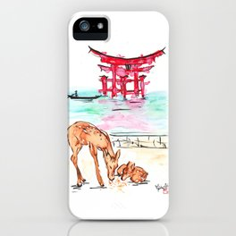 Miyajima iPhone Case