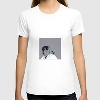 john green T-shirts featuring John by Cyrille Savelieff