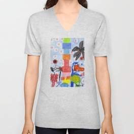Shoe Tree Unisex V-Neck