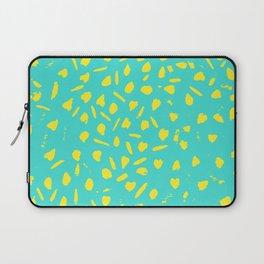 leopard background pattern Laptop Sleeve