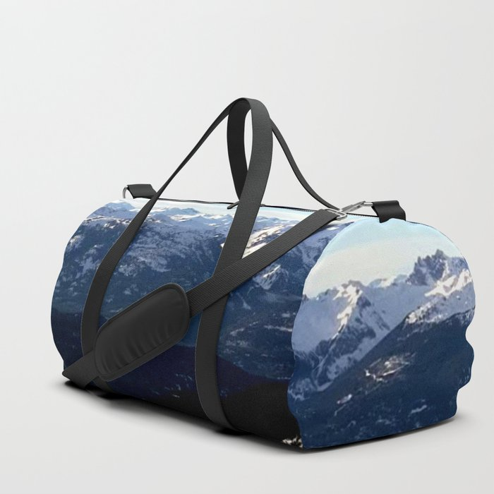 Crispy light air up here Duffle Bag