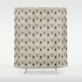 Retro art deco pattern ornament. Shower Curtain