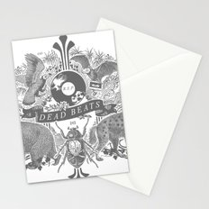 DEAD BEATS Stationery Cards