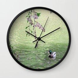 Wild Duck Wall Clock