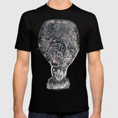 SOUL SAILOR no.4 Mens Fitted Tee Black SMALL