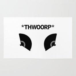 *THWOORP* Fans Rug
