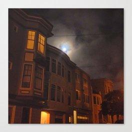 mooned-lighting Canvas Print