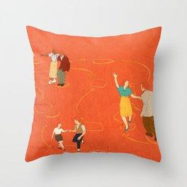 Sing, sing, sing! Throw Pillow