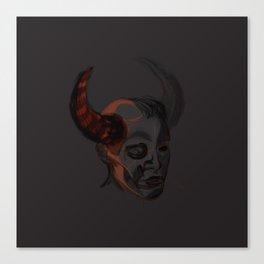 Trueforms #1 - demon!Dean Canvas Print