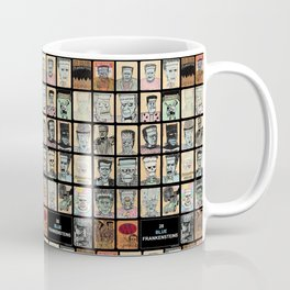 28 Blue Frankensteins Coffee Mug