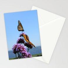 velvet butterflies Stationery Cards