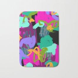 Digital Monster Abstract Bath Mat