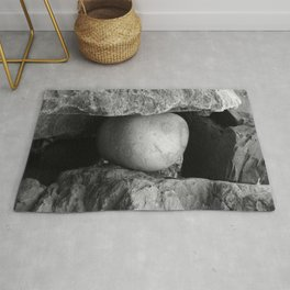 Rock Between Two Hard Places Rug