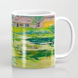 Václav Radimský (1867-1946) Summer Mood Impressionist Landscape Oil Painting Coffee Mug