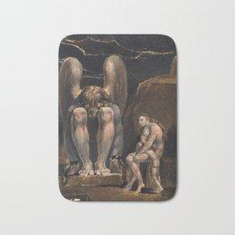 William Blake - America. A Prophecy, Plate 1, 1793 Bath Mat