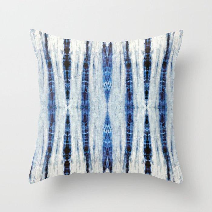 Nori Blue Throw Pillow