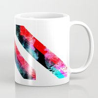 prism Mugs featuring PRISM³ by DREW WISE