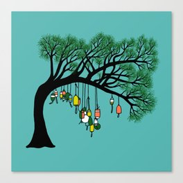 Buoy Tree by Seasons K Designs for Salty Raven Canvas Print