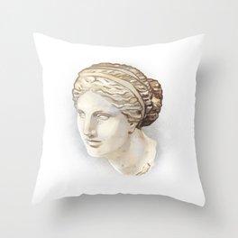 Aphrodite of Cnidus Throw Pillow