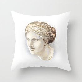 Aphrodite of Cnidus Throw Pillow