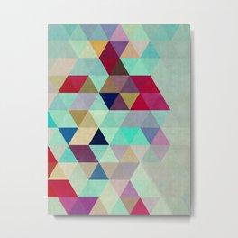 Geometric cosmos III Metal Print