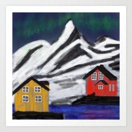 Northern Norway Art Print