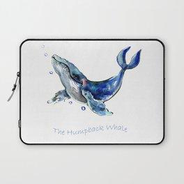 Whale Artowrk, Humpback Whale Laptop Sleeve