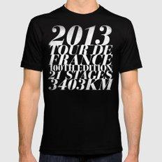 2013 Tour de France: Sprint!  Mens Fitted Tee MEDIUM Black