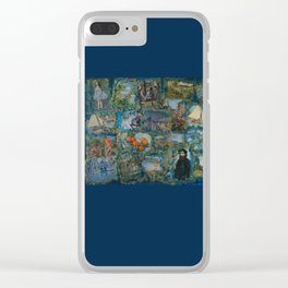 The Impressionists No. 1 COL140215a Clear iPhone Case