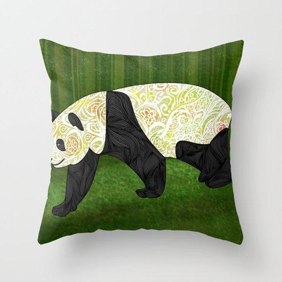 Panda Throw Pillow